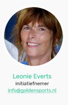 Leonie Everts, intiatiefnemer Goldensports