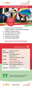 Flyer Goldensports Spijkenisse